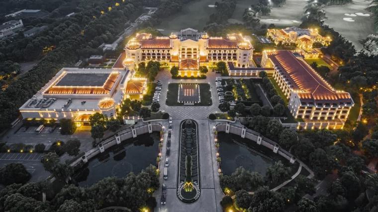 南京国际高尔夫酒店建筑景观实景丨110P_1
