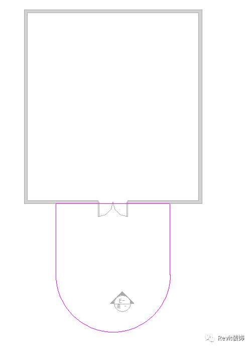 如何在Revit中制作斜柱雨棚_4