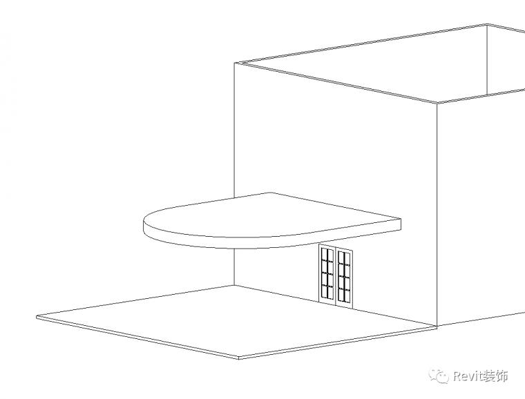 如何在Revit中制作斜柱雨棚_6