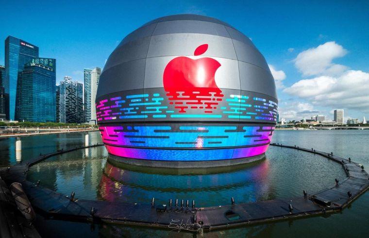 苹果首家水上零售店丨官方摄影+视频丨60P_3