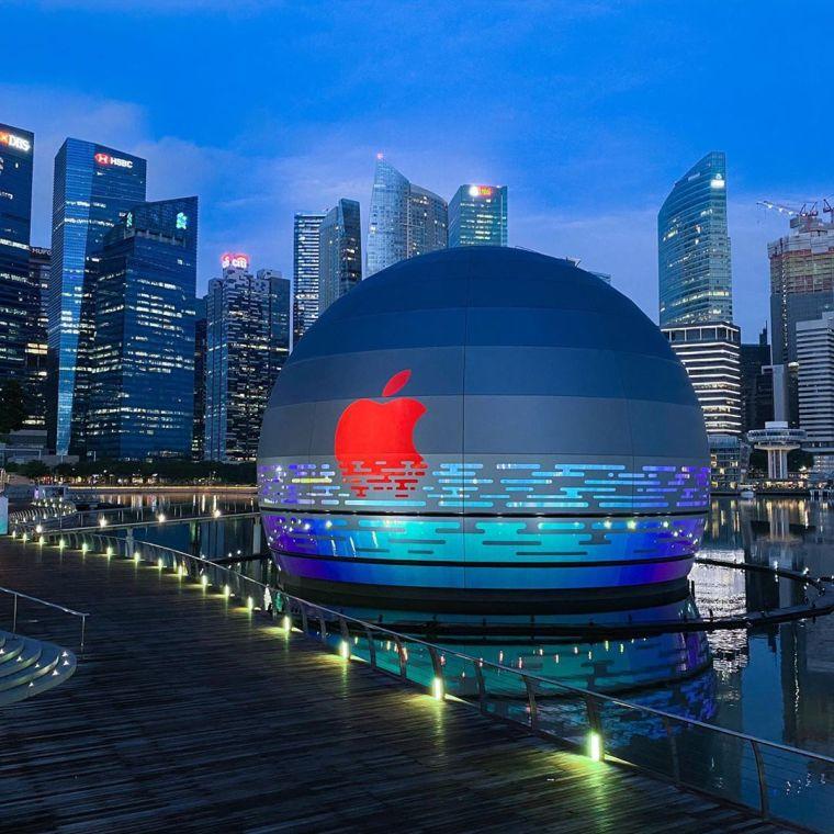 苹果首家水上零售店丨官方摄影+视频丨60P_4