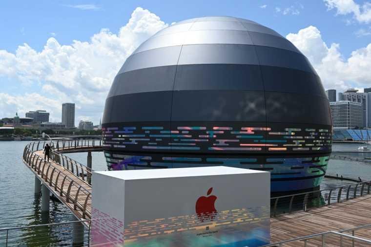 苹果首家水上零售店丨官方摄影+视频丨60P_7