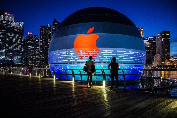 苹果首家水上零售店丨官方摄影+视频丨60P_10