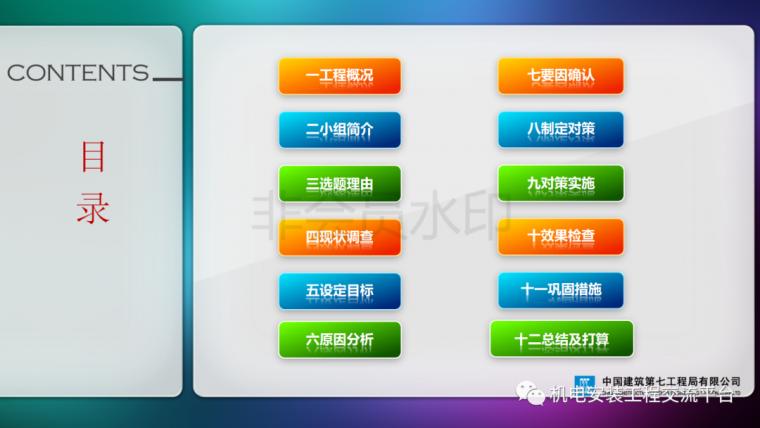 中建七局|省立医院机电安装QC成果_2