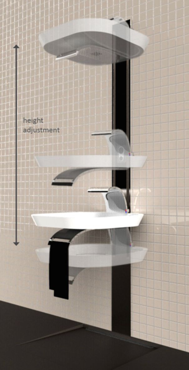 洗手台这样设计,还要淋浴头干啥!_5