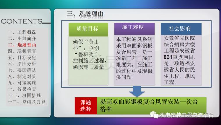 中建七局|省立医院机电安装QC成果_5