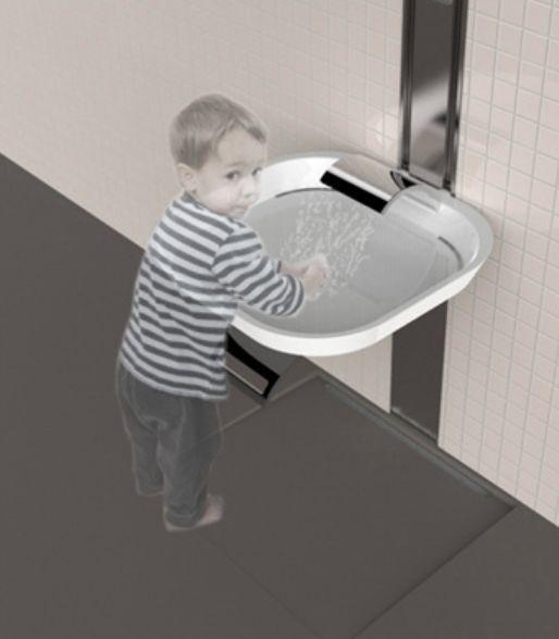 洗手台这样设计,还要淋浴头干啥!_10