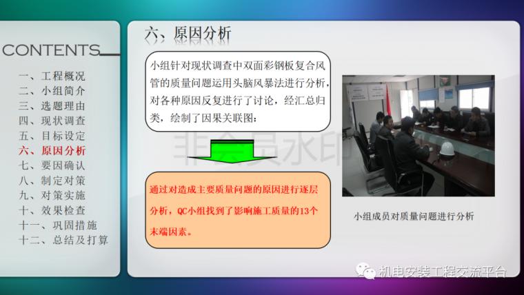 中建七局|省立医院机电安装QC成果_10