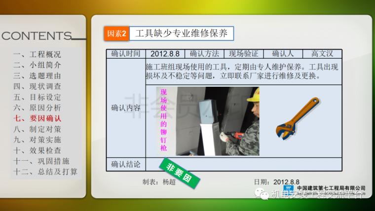 中建七局|省立医院机电安装QC成果_13