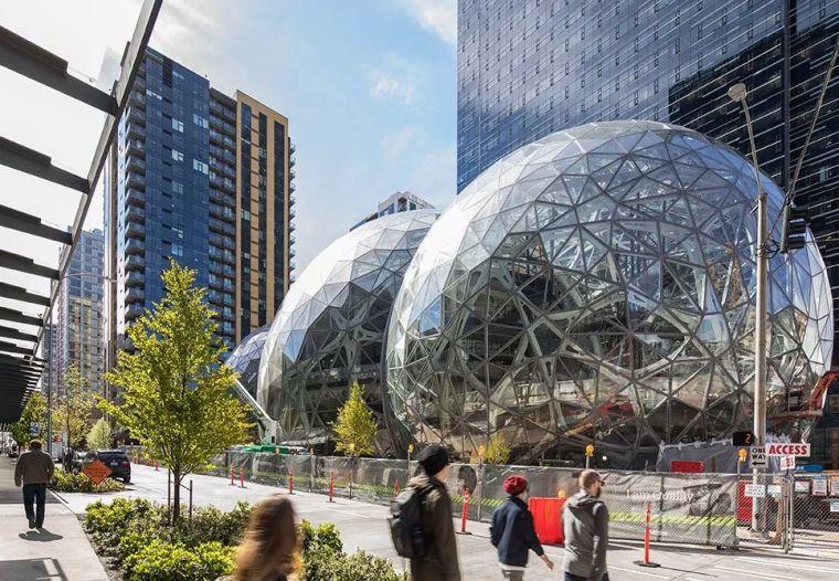 亚马逊新总部大楼方案问世,巨吸睛!_1