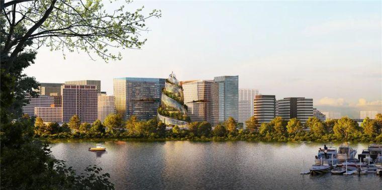 亚马逊新总部大楼方案问世,巨吸睛!_5