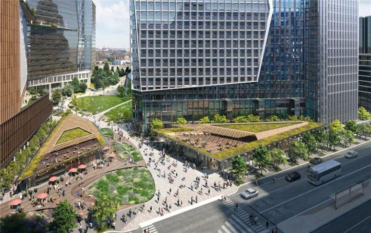 亚马逊新总部大楼方案问世,巨吸睛!_10