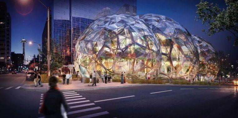 亚马逊新总部大楼方案问世,巨吸睛!_22