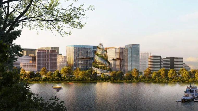 亚马逊新总部大楼方案问世,巨吸睛!_25