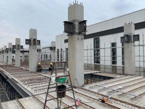 预制混凝土构件在钢结构项目中的应用_46