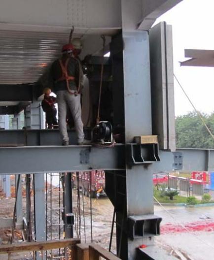 预制混凝土构件在钢结构项目中的应用_62