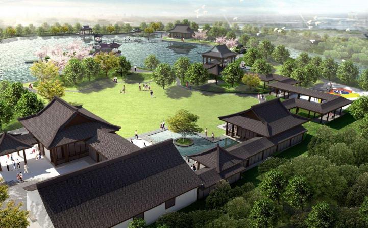 [浙江]滨河湿地度假养生小镇规划设计2017_1