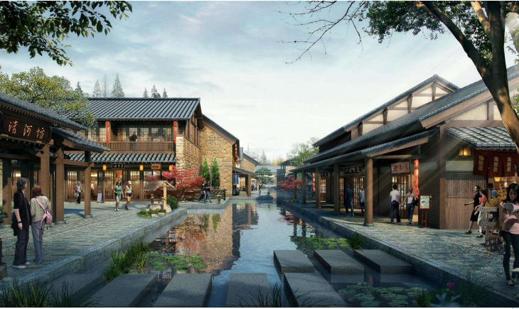 [浙江]滨河湿地度假养生小镇规划设计2017_4