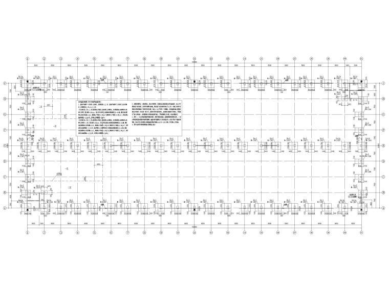 [京山]门式刚架结构产业园厂房结施图2016_3