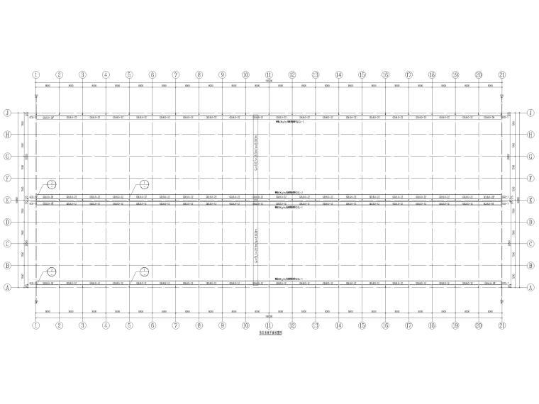 [京山]门式刚架结构产业园厂房结施图2016_1