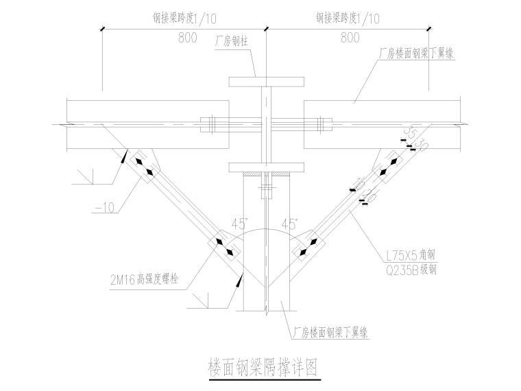 [京山]门式刚架结构产业园厂房结施图2016_5