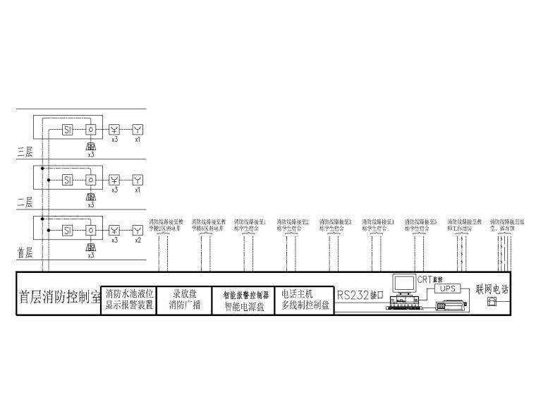 [广东]行政办公楼电气图纸(含防雷接地做法)_4