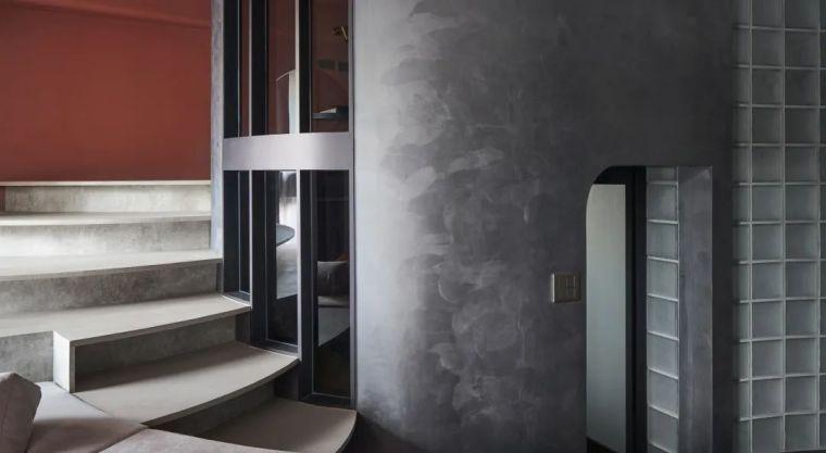 57㎡单人公寓,现代工业风错层空间_10