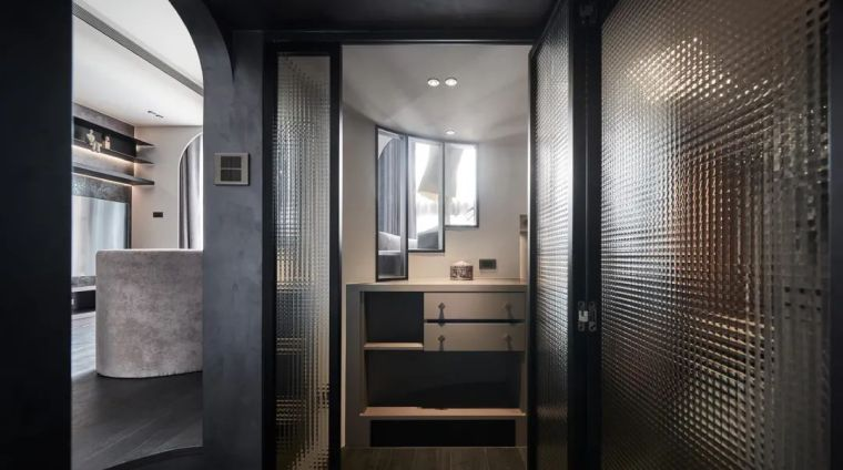 57㎡单人公寓,现代工业风错层空间_20