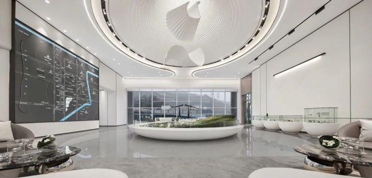 现代、简约、柔美、流畅,塑造空间品质感_9