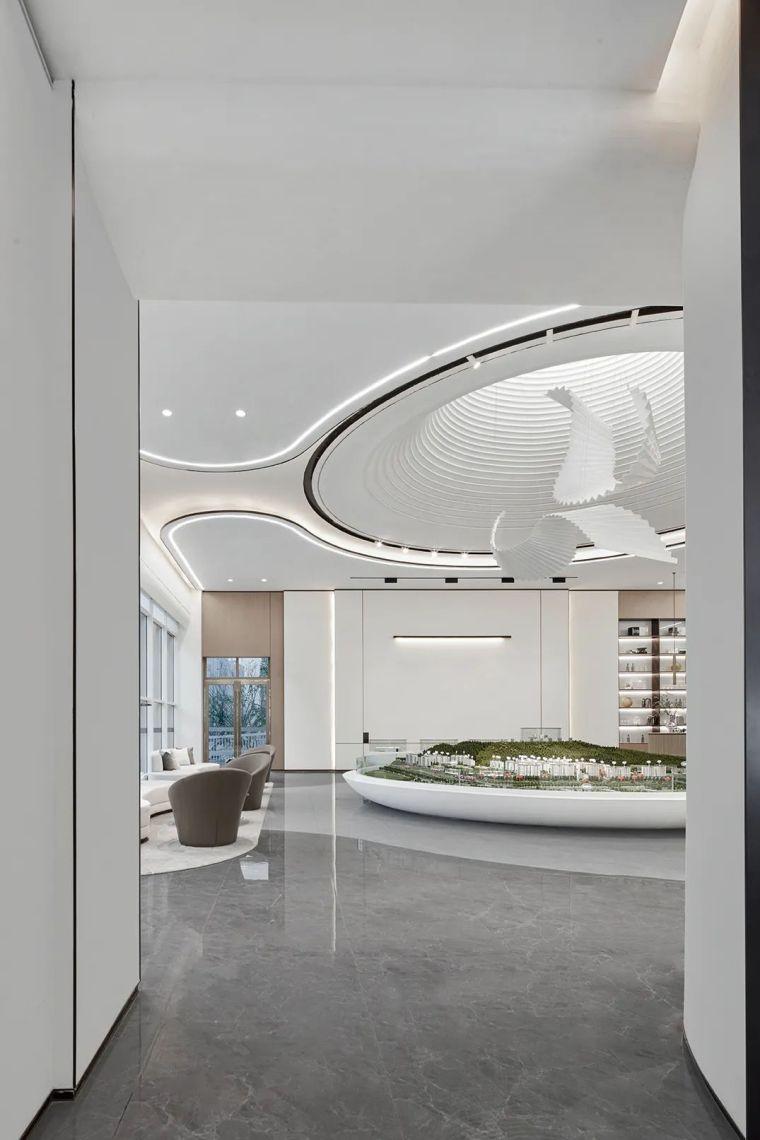 现代、简约、柔美、流畅,塑造空间品质感_11