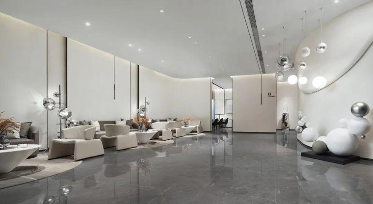 现代、简约、柔美、流畅,塑造空间品质感_12