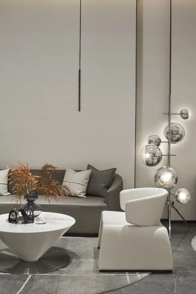 现代、简约、柔美、流畅,塑造空间品质感_14