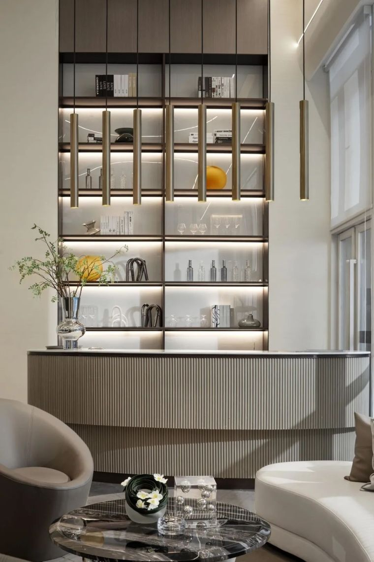 现代、简约、柔美、流畅,塑造空间品质感_16