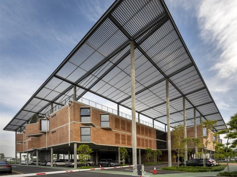 马来西亚Aemulus电子公司的制造和办公大楼_1