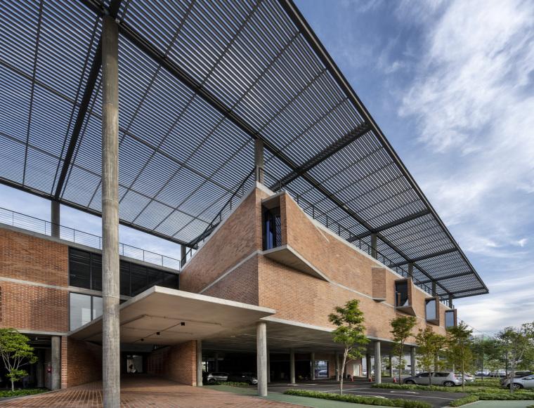 马来西亚Aemulus电子公司的制造和办公大楼_10