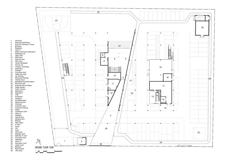 马来西亚Aemulus电子公司的制造和办公大楼_22