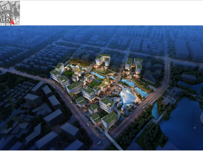 上海闵行智慧文化复合产业园建筑方案文本_1