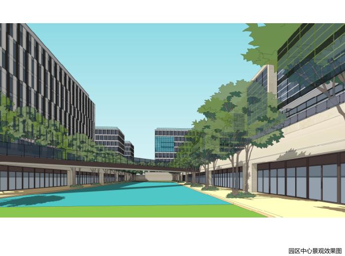 上海嘉定工业区高科技园区城市规划设计方案_5