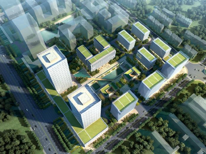 上海嘉定工业区高科技园区城市规划设计方案_1