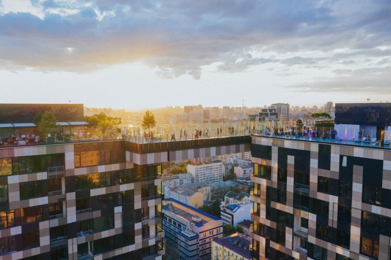 俄罗斯方块大厅公寓_7