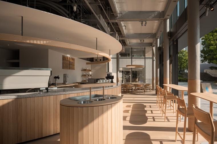 日本BlueBottle咖啡港未来店_3