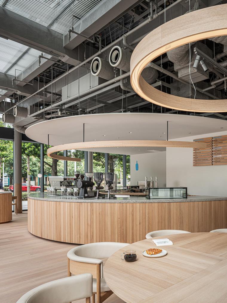 日本BlueBottle咖啡港未来店_2
