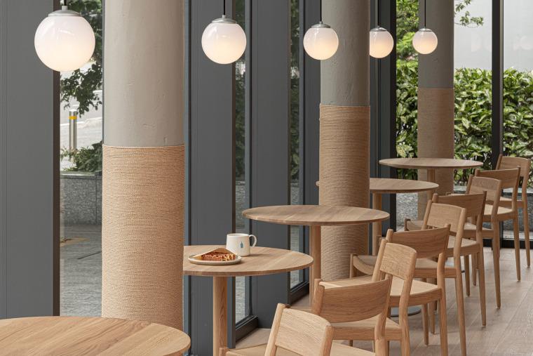 日本BlueBottle咖啡港未来店_13