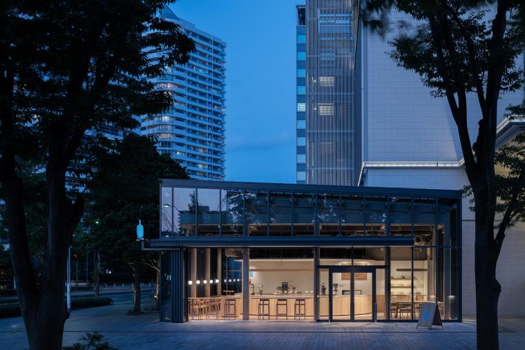 日本BlueBottle咖啡港未来店_21