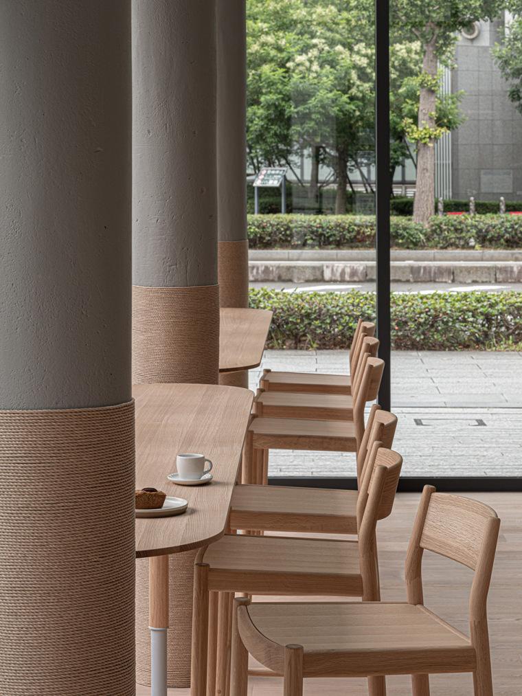 日本BlueBottle咖啡港未来店_9