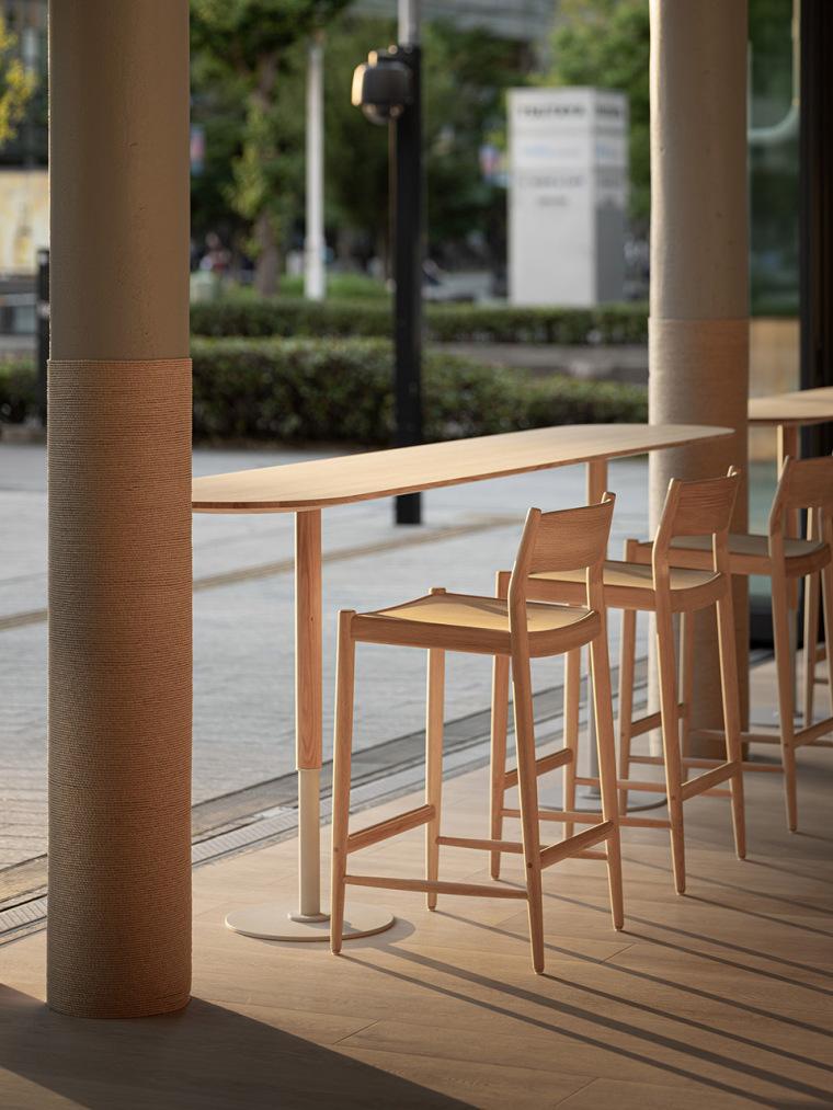 日本BlueBottle咖啡港未来店_8