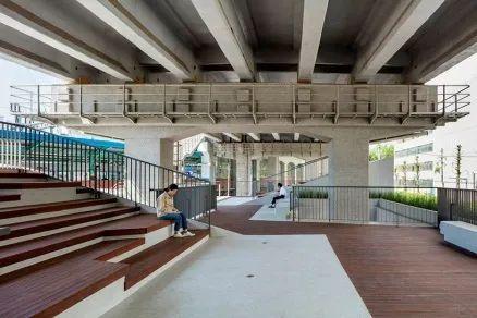 城市高架桥下,除了停车场还能干些什么_35