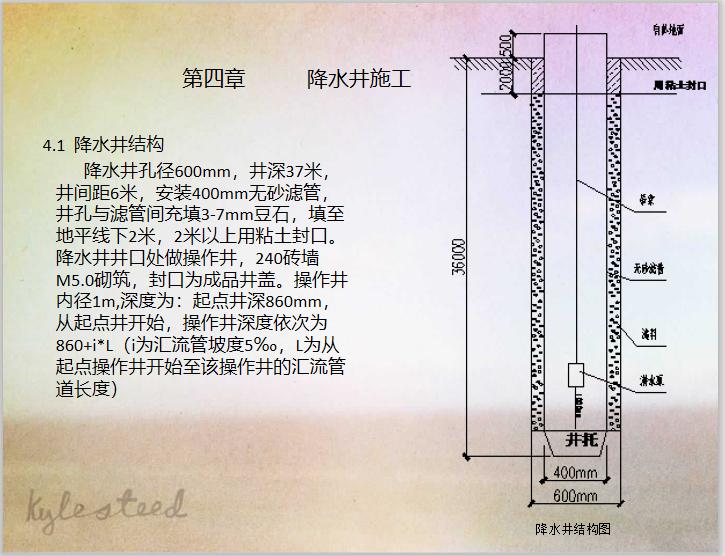 地铁建设工程降水降水井施工工艺_4