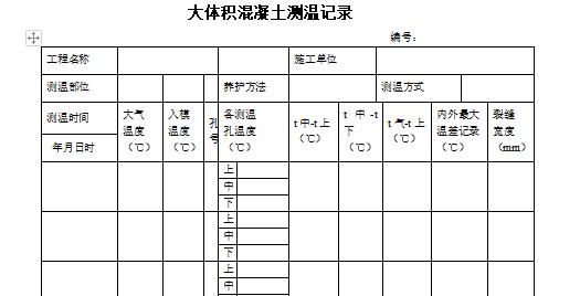 筏板基础测温管做法及位置及测温方式_3