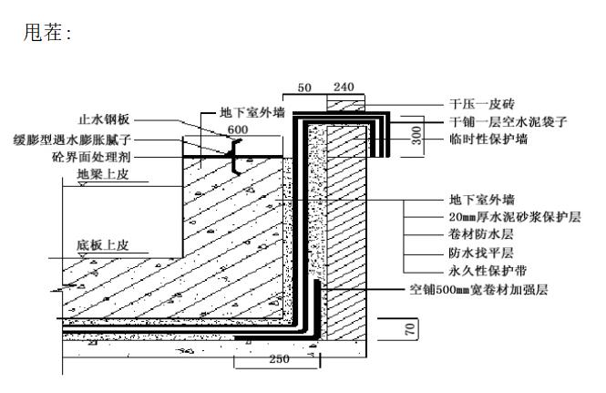 [河北]26层住宅地下防水施工方案(17P)_4